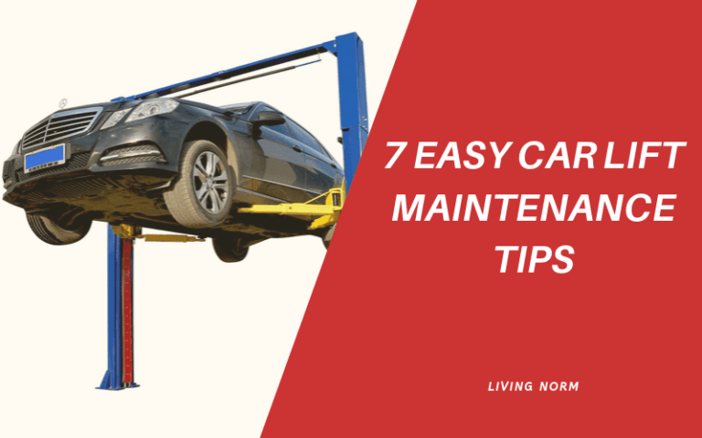 7 Easy Car Lift Maintenance Tips