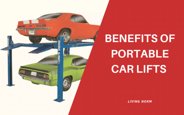 Benefits of Portable Car Lifts for Home Garage