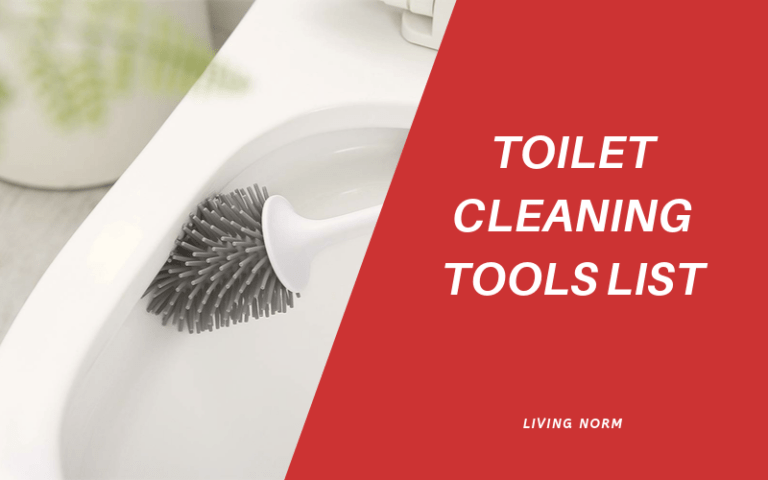 A Detailed Outline of Toilet Cleaning Tools List