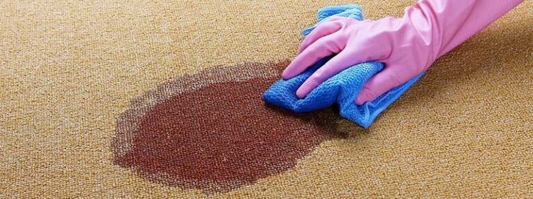 how to get fabric paint out of carpet