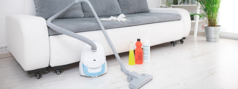 sanitizing vacuum cleaner