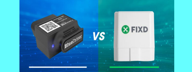 Fixd vs. BlueDriver OBD2